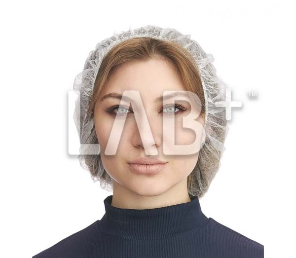 beret beliy 600x523 - Bouffant Cap white