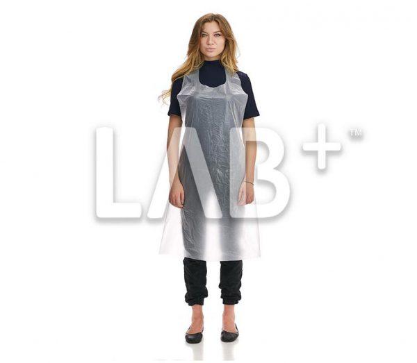 fartuk polietilenoviy beliy 1 e1522830237614 600x523 - Polyethylene apron, white