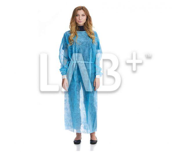 halat hirurgicheskiy na manzhetah siniy 1 e1522829630292 600x523 - Surgical gowns blue, XXL