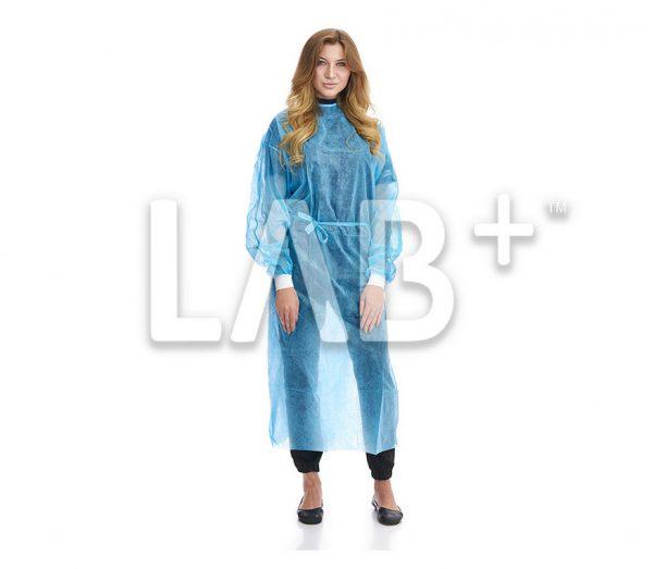"halat hirurgicheskiy siniy evrostandart 1 e1522828730564 600x523 - Dressing gowns ""European standard"""
