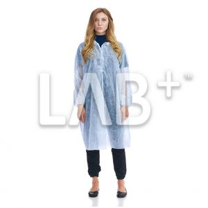 halat procedurniy goluboy 2 e1522828269621 300x300 - Dressing gowns procedural blue on buttons, XL