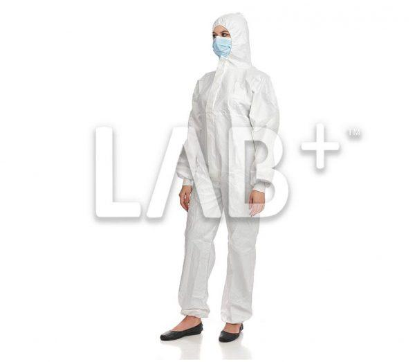 kombinezon Labguard 4 e1522837167636 600x523 - LabGuard overalls are white, S