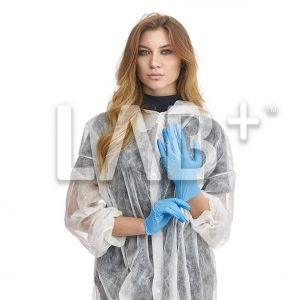 perchatky netrilovie siniye 1 e1522825255308 300x300 - Nitrile gloves, full texture, Blue, size M