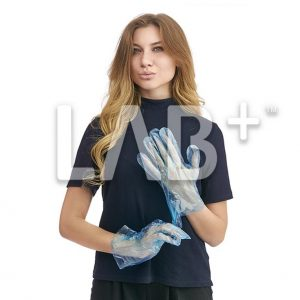 perchatky polietilenivie golubie 1 e1522826893221 300x300 - Polyethylene gloves, Blue, size L