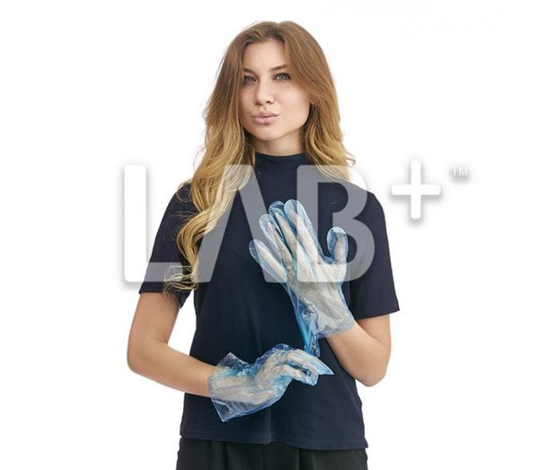 perchatky polietilenivie golubie 1 e1522826893221 600x523 - Blue polyethylene gloves, L