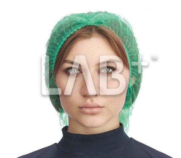 """117 шарлотта зел анфас e1522917623413 600x523 - Mob cap """"Charlotte"""", green"""
