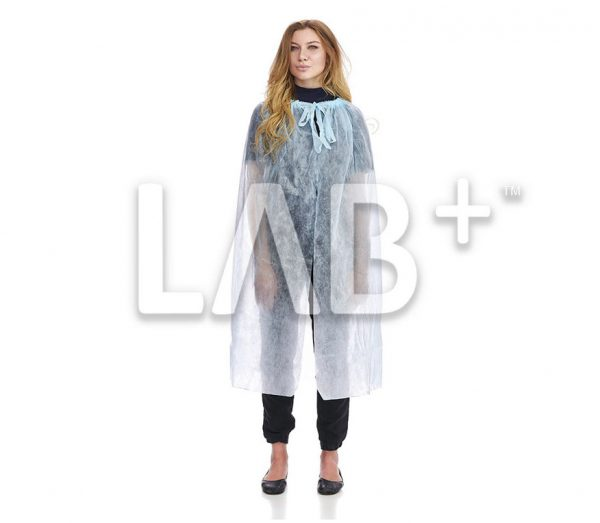 Nakidka Lab e1522667407441 600x523 - Cape for visitors, blue