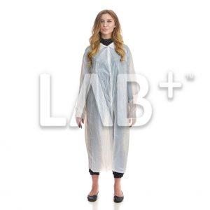 halat polietilenoviy beliy 2 e1522913588583 300x300 - Polyethylene procedural gowns, XLL